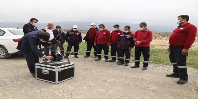 Hatay Büyükşehir Belediyesi İlaçlamada Teknolojiden faydalanıyor