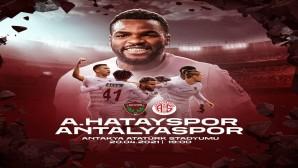 Atakaş Hatayspor bu akşam Antakya'da  Antalyaspor'u konuk ediyor