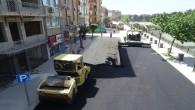 Altyapı çalışmaları tamamlanan İnönü caddesi asfaltlanıyor!