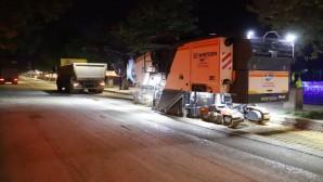 Antakya İnönü Caddesine Beton asfalt