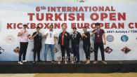 Hatay Büyükşehir Beldiyespor Kick Boks takımından büyük başarı