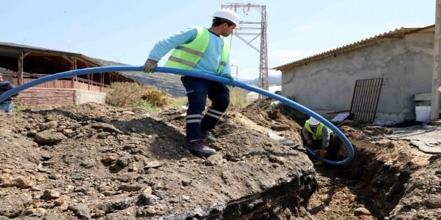 HAT SU: Samandağ  Meydan  Mahallesi de yeni şebekesine kavuştu