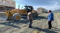 Samandağ Belediyesi Yol yapım çalışmalarını sürdürüyor