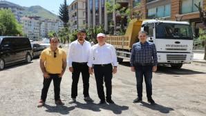 Başkan Savaş: Antakya'daki çalışmalarını yerinde inceledi