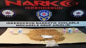 Sıvı sentetik uyuşturucu madde yakalandı