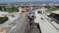 Şükrü Balcı caddesinde Beton Asfalt hazırlıkları başladı
