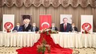Vali Rahmi Doğan'ın ev sahipliğinde Suriye Görev Gücü Koordinasyon ve Değerlendirme Toplantısı Yapıldı