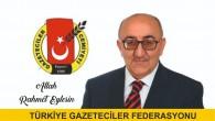 Türkiye Gazeteciler Federasyonu: Acımız Büyük Veli Altıkaya'yı kaybettik