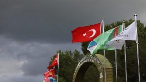 Türki Cumhuriyetlerin Bayrağı Hatay'da göndere çekildi!