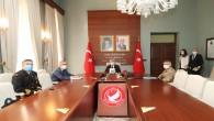 Hatay Valisi Rahmi Doğan, Tam kapanma koordinasyon kurulu toplantısına katıldı