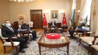 MUSİAD Yönetim Kurulu Başkanı ve Beraberindeki İş İnsanları  Vali Doğan'ı  Ziyaret etti