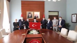 Türkiye Gaziler ve Şehit Aileleri Vakfı'ndan Vali Rahmi Doğan'a Ziyaret