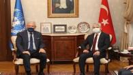 Birleşmiş Milletler  75. Genel Kurulu Başkanı Volkan Bozkır'dan Vali Rahmi Doğan'a Ziyaret