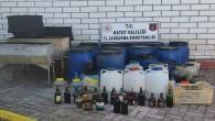 Arsuz'da 908 Litre Kaçak Alkol Ele Geçirildi