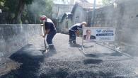 Antakya Belediyesi yol çalışmalarına aralıksız devam ediyor