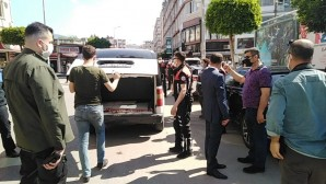 İskenderun'da  Alan uygulamasında 3400 kişi sorgulandı, 1500 araç kontrol edildi