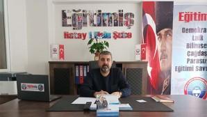 EĞİTİM-İŞ: Öğretmenlerimiz ölmemek için Libya vatandaşı mı olmalı?