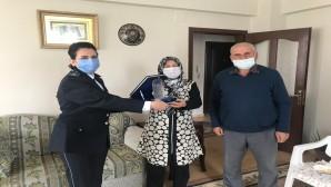 Emniyet Müdürü Vedat Yavuz, Emekli Polis memurunun oğlu'nun mektubuna  kayıtsız kalmadı