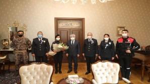 Emniyet Teşkilatından Vali Rahmi Doğan'a Ziyaret