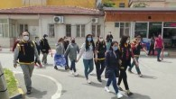 Mesaj salonunda fuhuş yapan 6 yabancı uyruklu kadın yakalandı