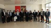 HAGİAD'dan Başkan Savaş'a ziyaret