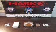 İskenderun'da Sentetik uyuşturucu madde yakalandı