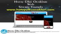 Hatay Ülkü Ocakları resmi WEB sitesi yayında