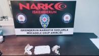 İskenderun'da uyuşturucu madde satan bir kişi tutuklandı