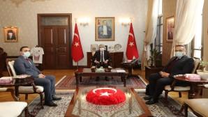 Müzeler Genel Müdür Yardımcısından  Vali Doğan'a Ziyaret