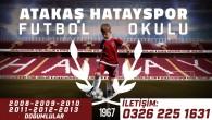 Atakaş Hatayspor Futbol Okulu kayıtları 1 Haziran Salı günü sona eriyor