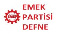 EMEK Partisi Defne İlçe Örgütü'nden Arıtma Tesisi Açıklaması