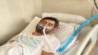 Bir haftalık Bebeğini göremeyen işçi Enver Vurgun, Covid-19'dan hastanede öldü!