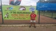 Hatay Büyükşehir Belediyespor'un Milli Tenisçisinden bir başarı daha
