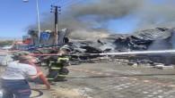Hatay Büyükşehir Belediyesi İtfaiyesi yangına 4 dakika içerisinde müdahale etti