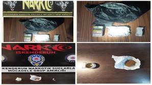 İskenderun'da uyuşturucu tacirlerine operasyon:  71 kişi yakalandı