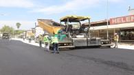 Antakya İstiklal Caddesi'nde beton asfalt çalışmaları tamamlanıyor!