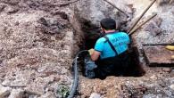HAT SU: Kırıkhan ilçesinde çöken kanal hattı yenilendi!