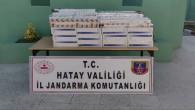 Kumlu'da  2.718 paket bandrolsüz  kaçak Sigara yakalandı