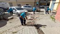 Antakya Belyediyesi'nin kapsamlı temizlik çalışması devam ediyor
