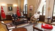 Hatay Valisi Rahmi Doğan eski Bakan Kürşat Tüzmen'i ağırladı