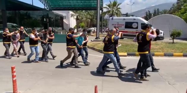 İskenderun'da Hırsızlık Suçundan Aranan 5 Kişi Yakalandı