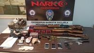 İskenderun'da yine uyuşturucu operasyonu: 4 göz altı çok sayıda uyuşturucu madde yakalandı
