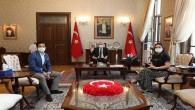 Vali Doğan'a şehitlerin filim yapımcıları Ercan ve Karaca'dan  Ziyaret