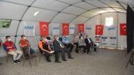 AFAD çadırında bilgilendirme ve farkındalık programı düzenlendi