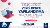 Antakya Belediyesinden hatırlatma: Yapılandırmada son gün 31 Ağustos