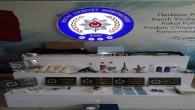 Antakya ve Defne'de eş zamanlı 6 adrese uyuşturucu  operasyonu: 3 göz altı 2 Tabanca çok sayıda uyuşturucu madde yakalandı