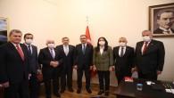 Başkan İzzetin Yılmaz Ankara'da bir takım ziyaretler gerçekleştirdi