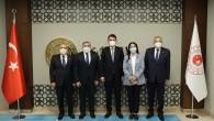 Başkan İzzetin Yılmaz Ankara'da