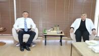 Başkan Lütfü Savaş, Ceyhan Belediye Başkanı Hülya Erdem'i ağırladı
