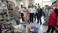 Başkan Lütfü Savaş CHP'li Başkanlar Gaziantep'te buluşurken, İslahiyeli Esnaf ve Vatandaşlarla bir arayg geldi